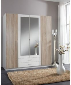 wardrobe with glass door