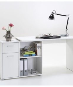 Corner Flexi Desk White