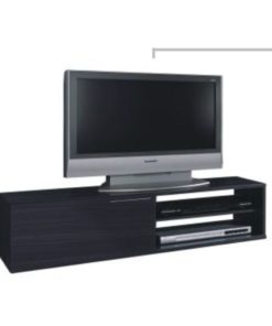 Grey Wood Effect TV Cabinet