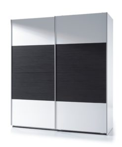 black and white gloss beautiful wardrobe
