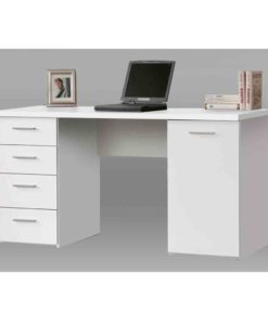 Computer Desk with drawer and cupboard