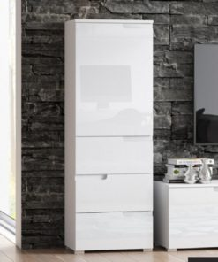 WHITE GLOSS CUPBOARD