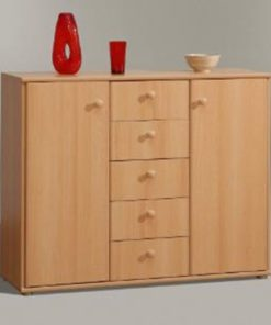 Sideboard with cupboard